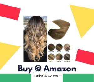 Labeh Clip in Human Hair Extensions