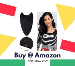 Invisible Secret Wire Hair Extensions Human Hair