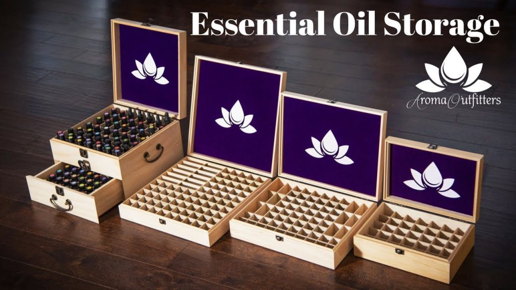 Essential Oils Storage Box