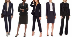 best tall womens business suits